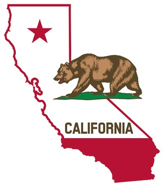 california flag emblem